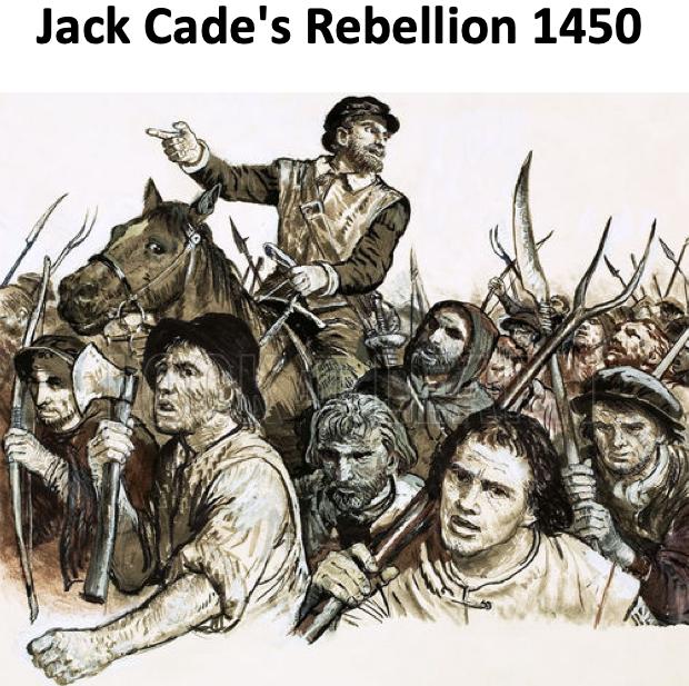 Jack Cade's Rebellion 1450