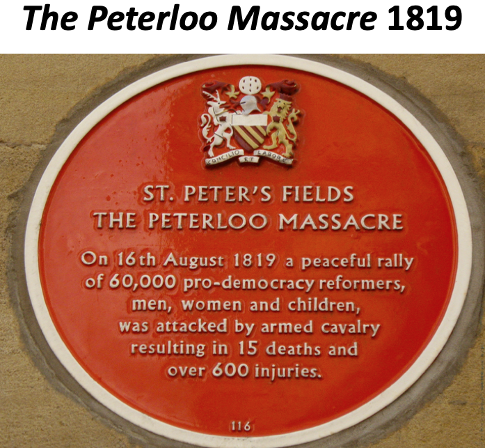 The Peterloo Massacre 1819